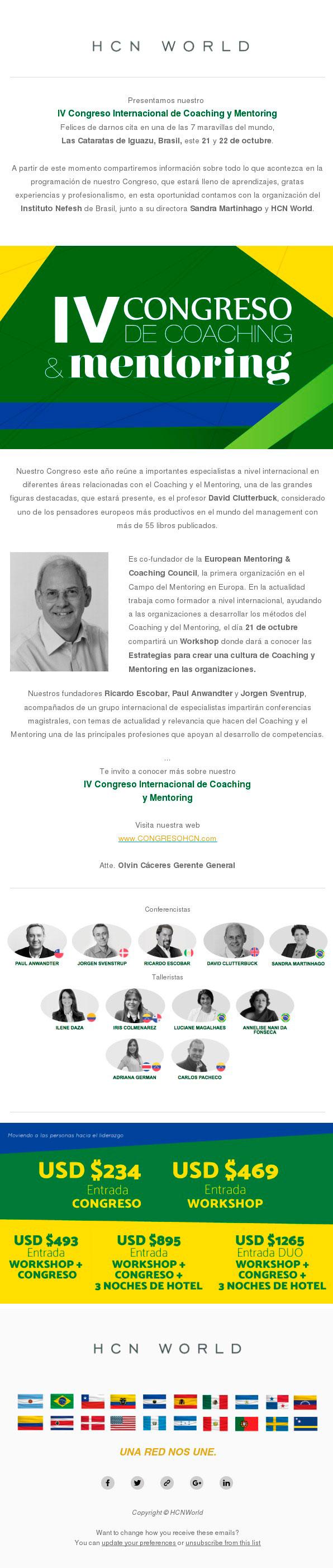 IV congreso de Coaching y Mentoring