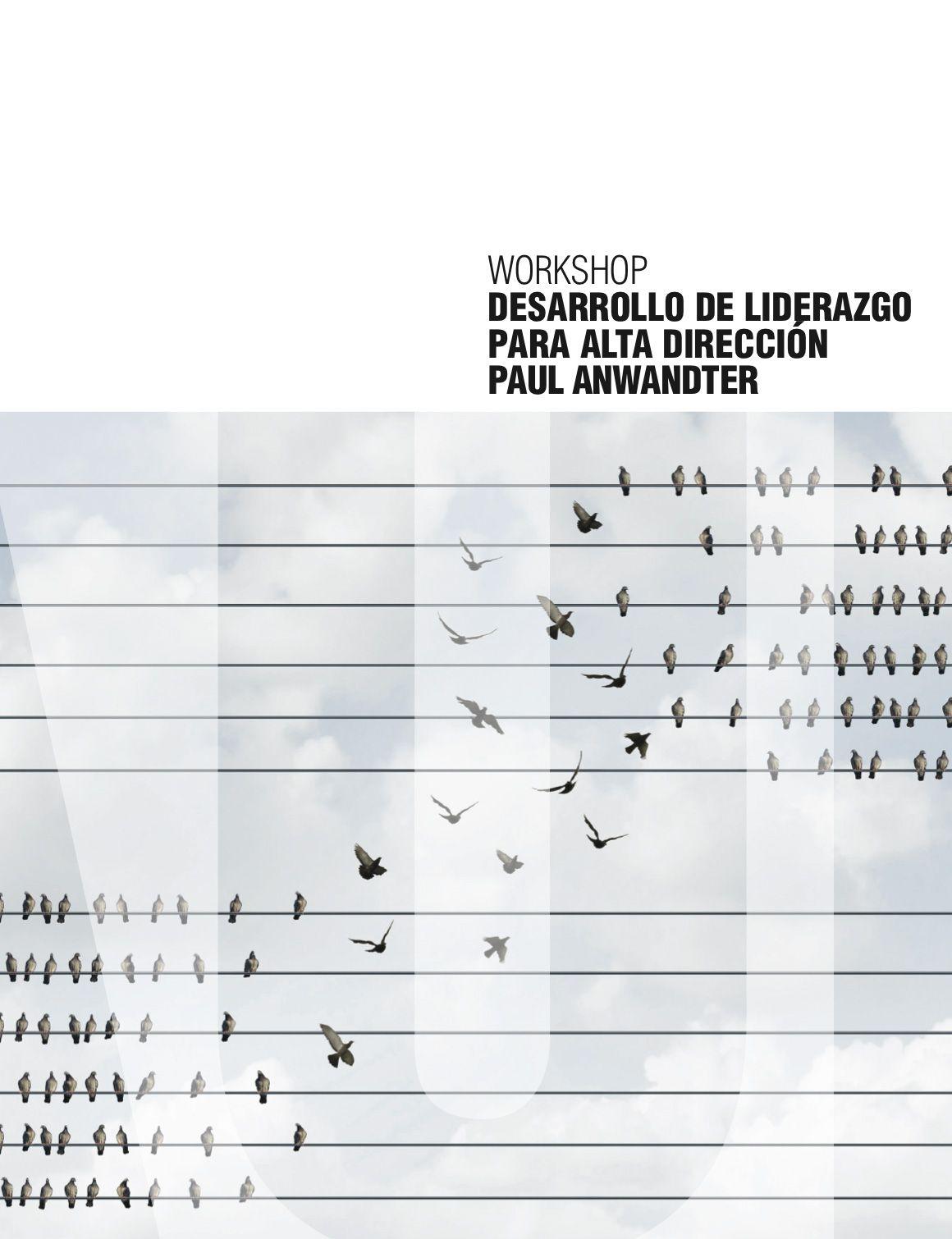 WORKSHOP DESARROLLO DE LIDERAZGO PARA ALTA DIRECCION